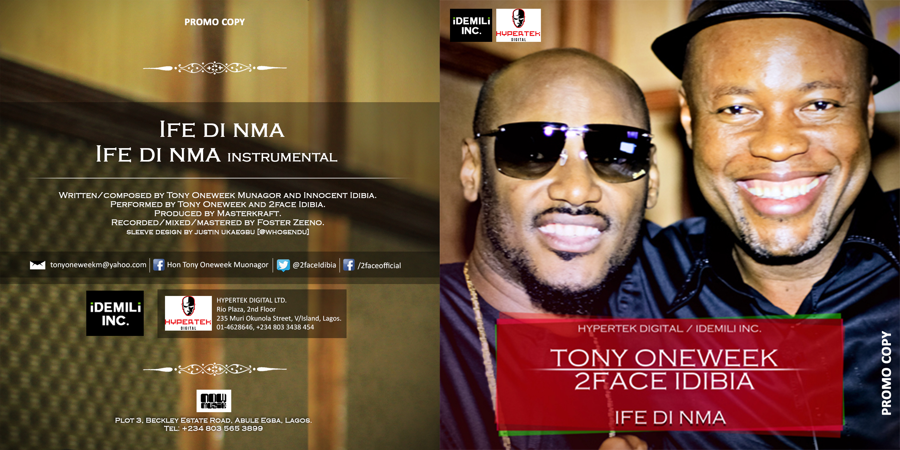 ife di nma by 2face
